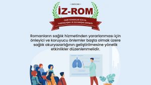 İZ-ROM'dan sağlıkçılara seslendi