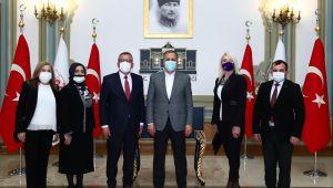 TÜRKİYE DEĞİŞİM PARTİSİ İSTANBUL İL BAŞKANLIĞINDAN İSTANBUL VALİSİ'NE ZİYARET