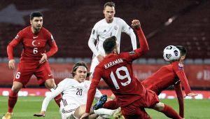 Milliler, Letonya karşısında üstünlüğünü koruyamadı, 3-3 berabere kaldı