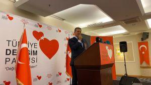 Türkiye Değişim Partisi Genel Başkanı Mustafa Sarıgül, Şanlıurfa'da büyük bir coşku ile karşılandı