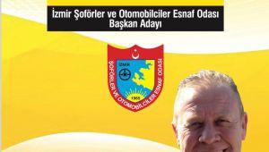 İzmir Şöförler ve Taksiciler Odası Başkan Adayı Özkan ÖZBAY'ın basın açıklaması.