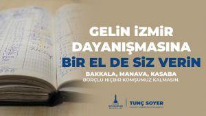 İzmirlilere 'veresiye defteri ödeme' çağrısı!