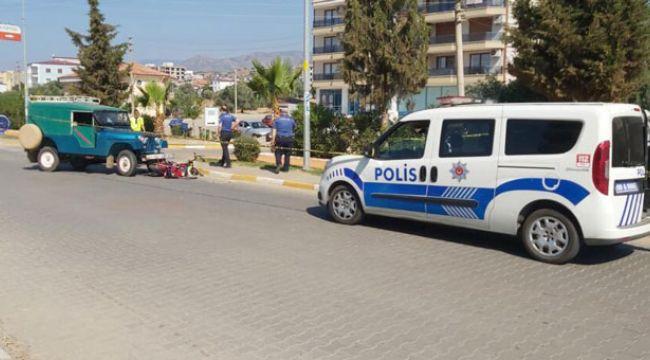 Aydın: Cip ile çarpışan elektrikli motosikletin 81 yaşındaki sürücüsü hayatını kaybetti