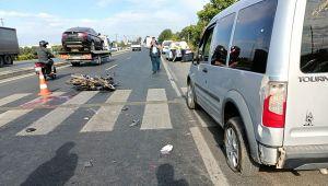 Aydın'da trafik kazası: 55 yaşındaki adam hayatını kaybetti