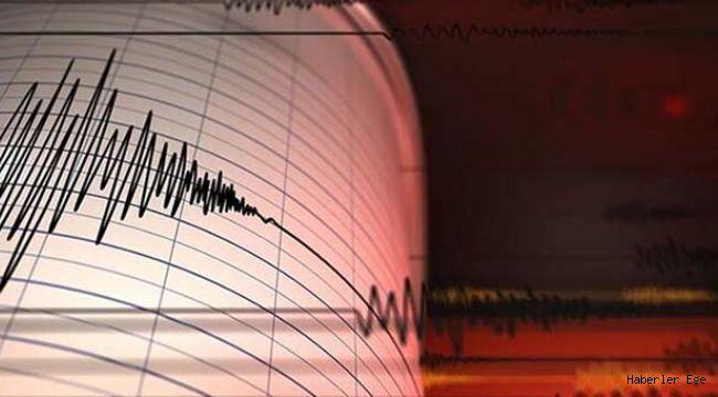 Datça açıklarında 4.1 büyüklüğünde deprem