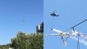 İzmir'de korkutan orman yangını! Kontrol altına alındı…