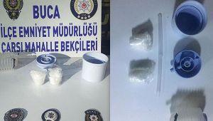 İzmirde uyuşturucuyu operasyonu: Damacana pompasına saklamışlar!