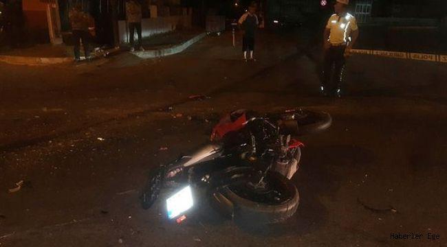 Aydın'da kamyonet ile motosiklet çarpıştı: 1 ölü, 1 yaralı