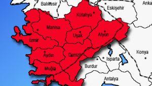 İzmir, Muğla, Manisa, Denizli, Aydın, Uşak ve Kütahya'da vaka sayıları arttı