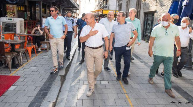 """Başkan Soyer: """"Kıbrıs Şehitleri Caddesi şehrin vitrini olacak"""""""