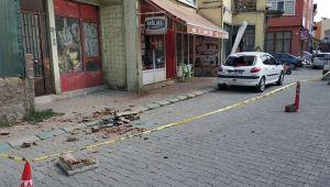 Kütahya'daki deprem anında yaşananlar kamerada