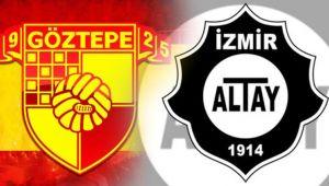 Göztepe, Altay maçının hazırlıklarına başladı