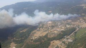 İzmir'de 430 hektar ormanlık alanı yakmakla suçlanan sanık yargılanıyor