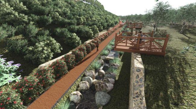 İzmir'de yağmur bahçeleri kuruluyor