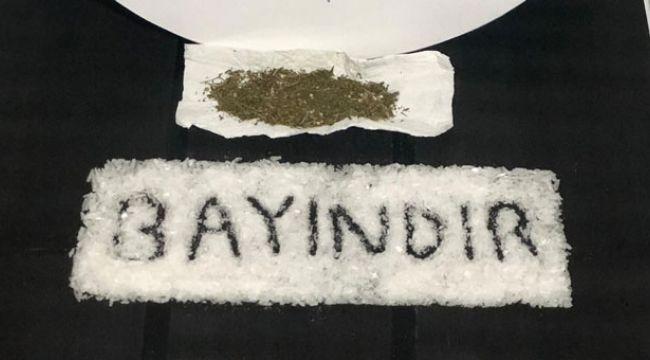 İzmir'de polisin şüphelendiği araçtan uyuşturucu çıktı