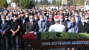 Kemalpaşa'nın efsane başkanı Mehmet Ali Özüdoğru son yolculuğuna uğurlandı