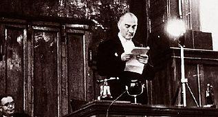 Atatürk'ün TBMM Açış konuşması 1934 Ankara